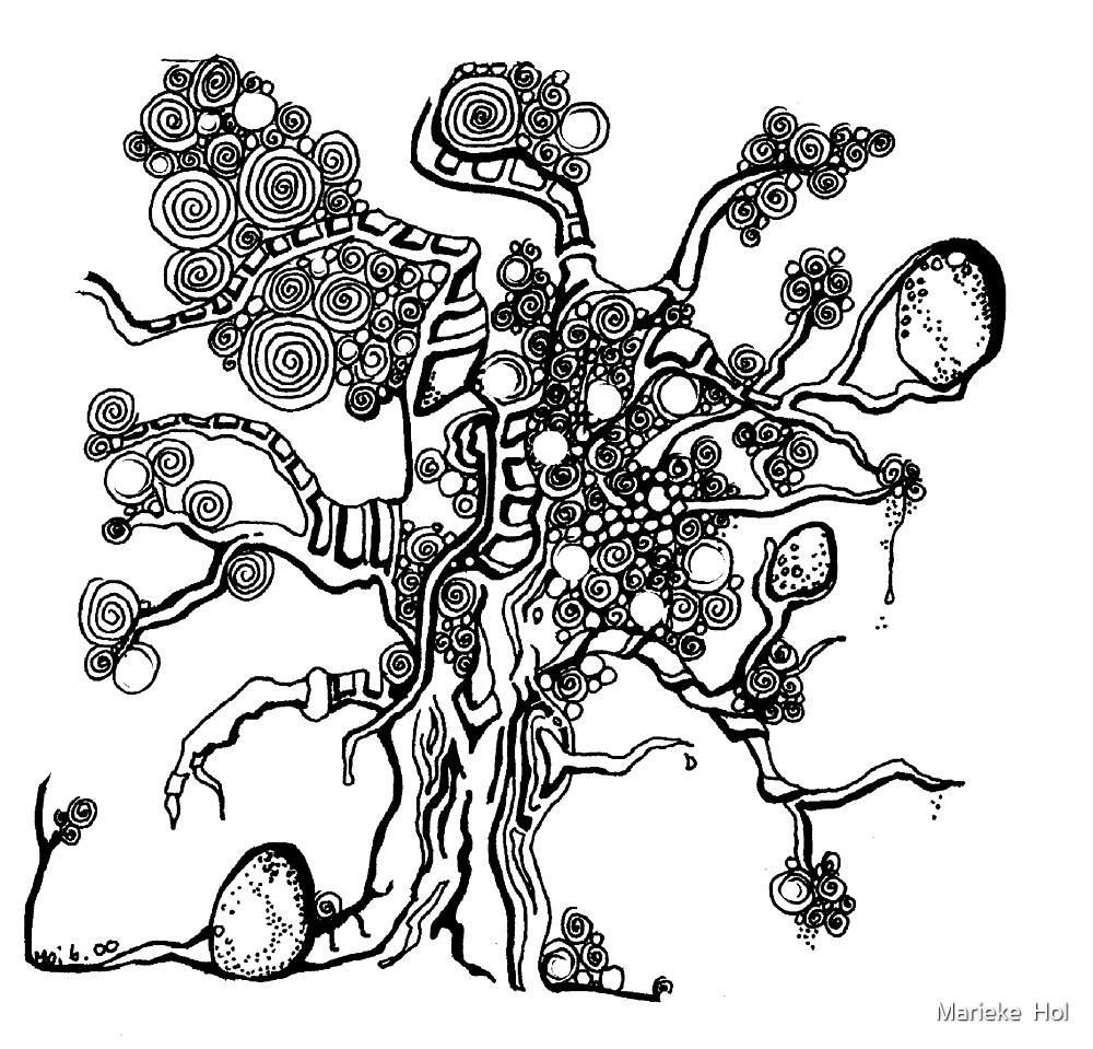 my tree by Marieke  Hol