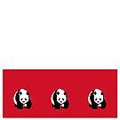 Cute Panda Bear Duvet Design T-Shirt by deanworld
