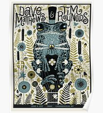 DMB & Tim Reynolds , June 4th 2017, Constellation Brands–Marvin Sands Performing Arts Center Canandaigua, NY  Poster