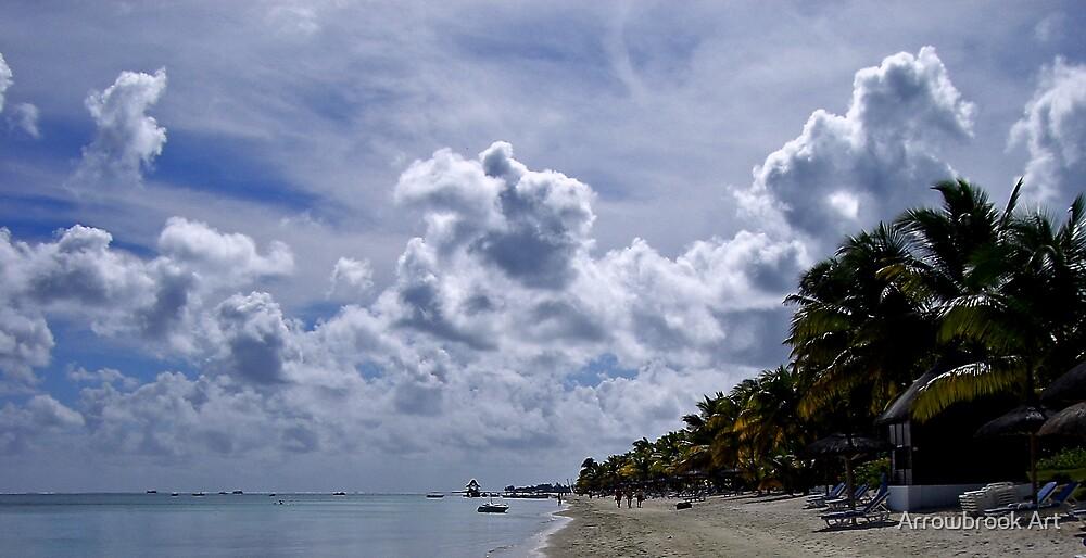 Big Sky Mauritius by John Brotheridge