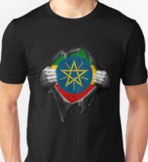 Ethiopia Flag. Proud Ethiopian T-Shirt