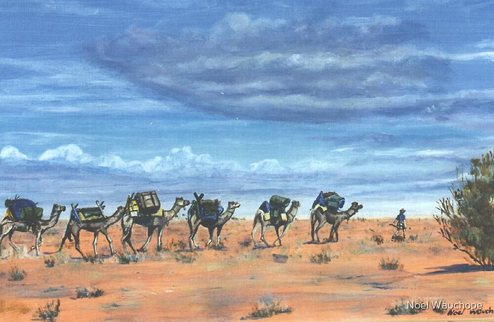 Camel trek by Noel Wauchope