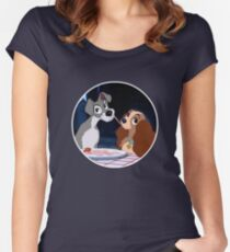 A Dog's Love Women's Fitted Scoop T-Shirt