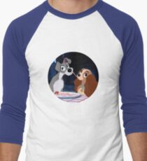 A Dog's Love Men's Baseball ¾ T-Shirt
