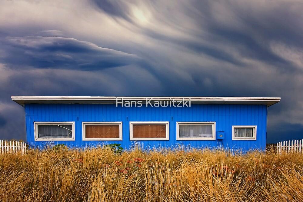0761 Blue Weekender - Avalon Beach by Hans Kawitzki