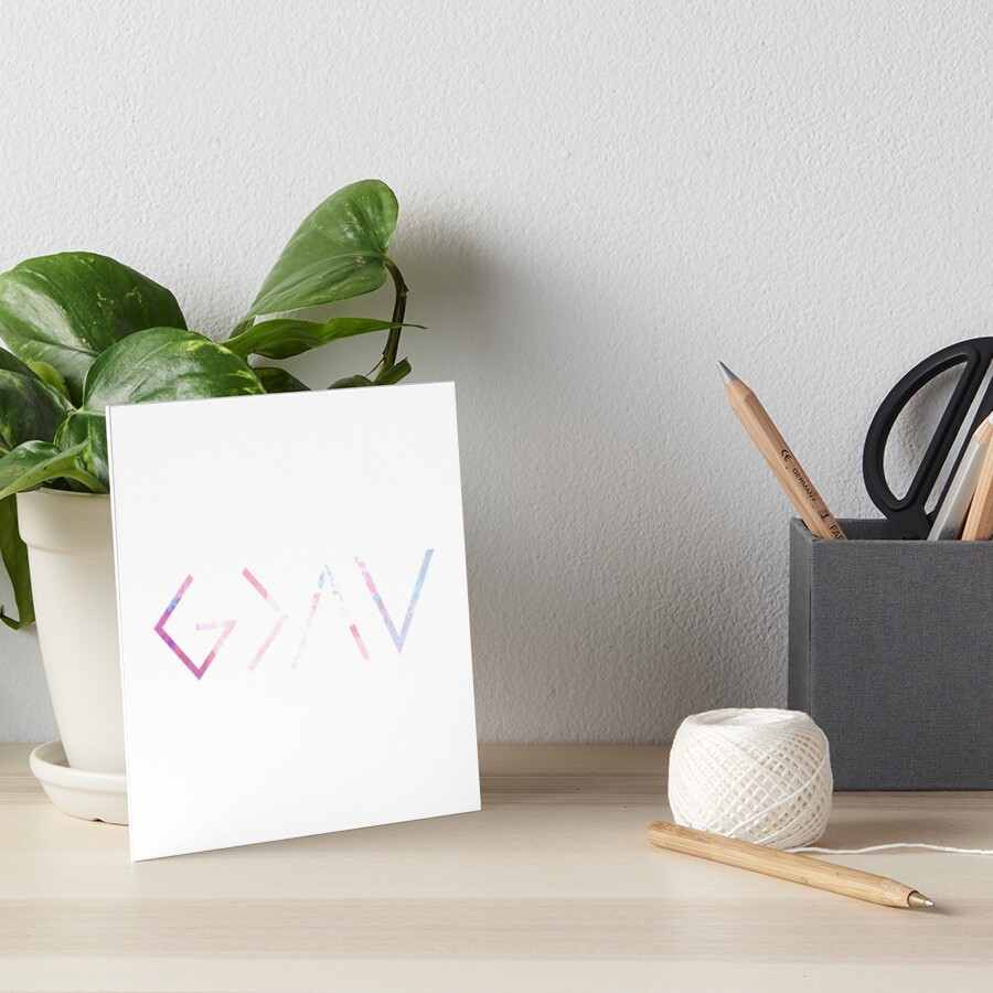 God Is Greater Than the Highs and Lows Art Board Print