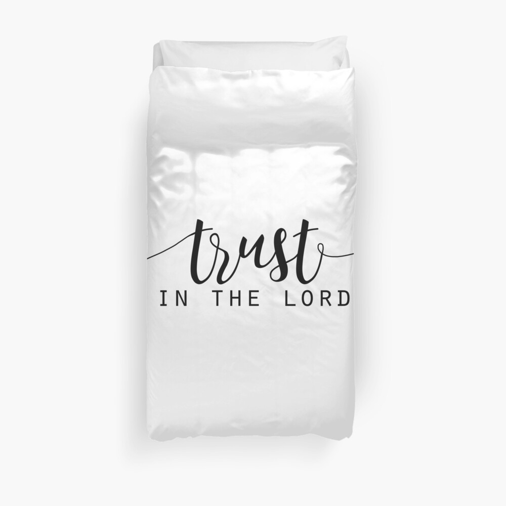 Christian Quote Duvet Cover