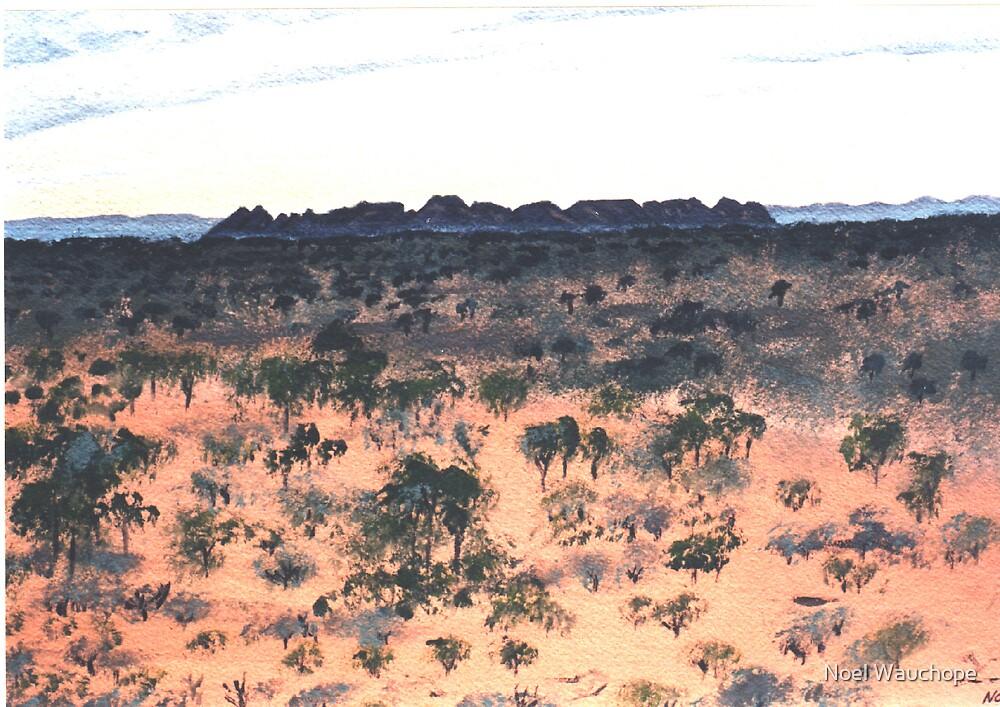 Gosse's Bluff by Noel Wauchope