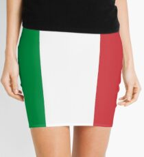 Flag of Italy Mini Skirt