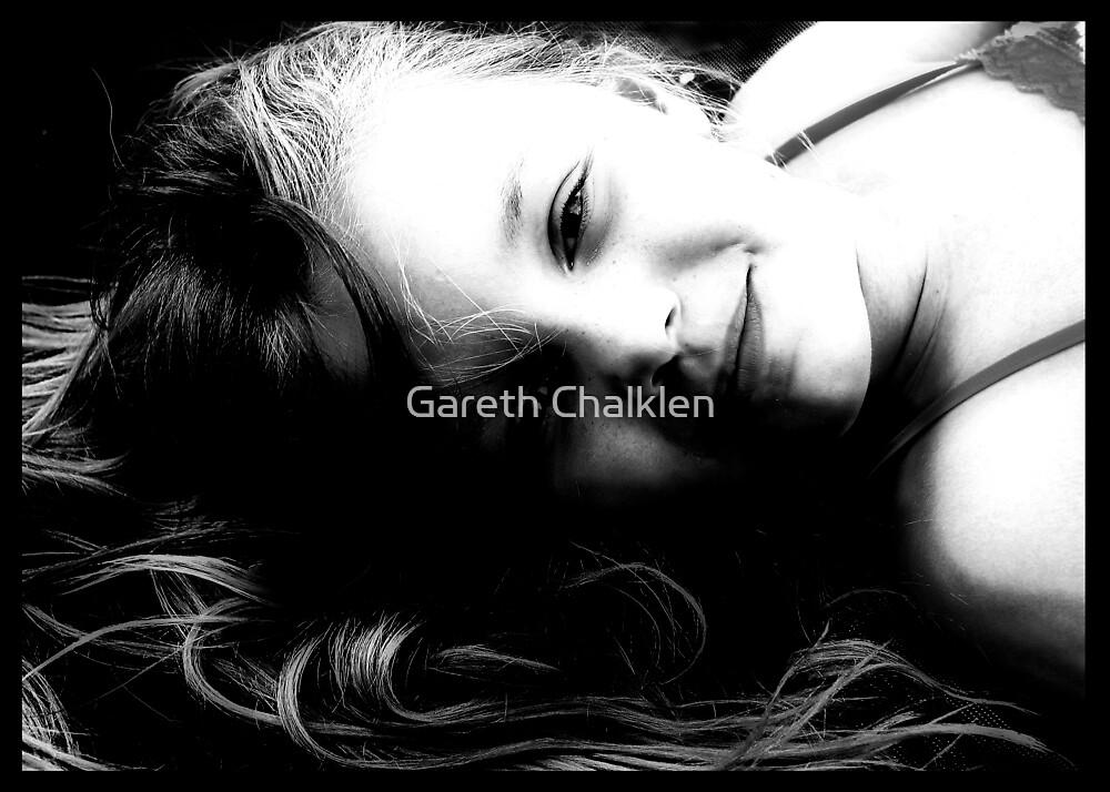 Girl Black and White by Gareth Chalklen