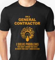GENERAL CONTRACTOR Unisex T-Shirt