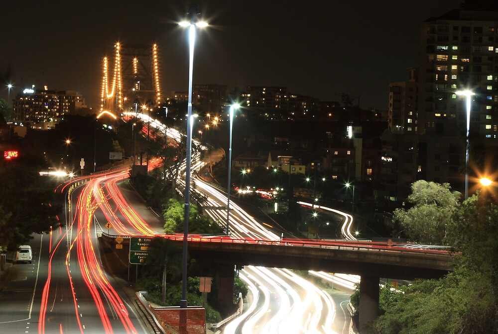 Brisbane Traffics by Nam Ngueyn