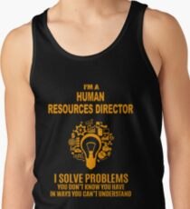HUMAN RESOURCES DIRECTOR Tank Top