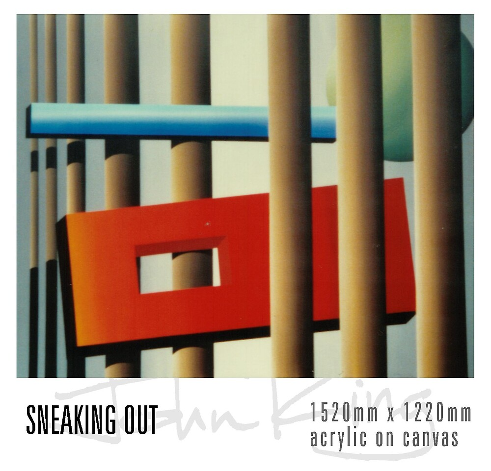 Sneaking Out by JohnKing