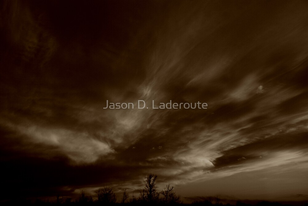 Awe Swepted Sky by Jason D. Laderoute
