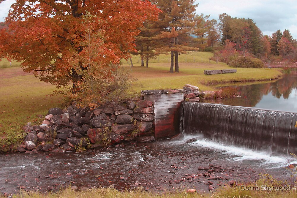 Peaceful Falls by Donna Sherwood