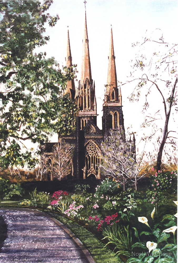 St patrick's Cathedral, melbourne by Noel Wauchope