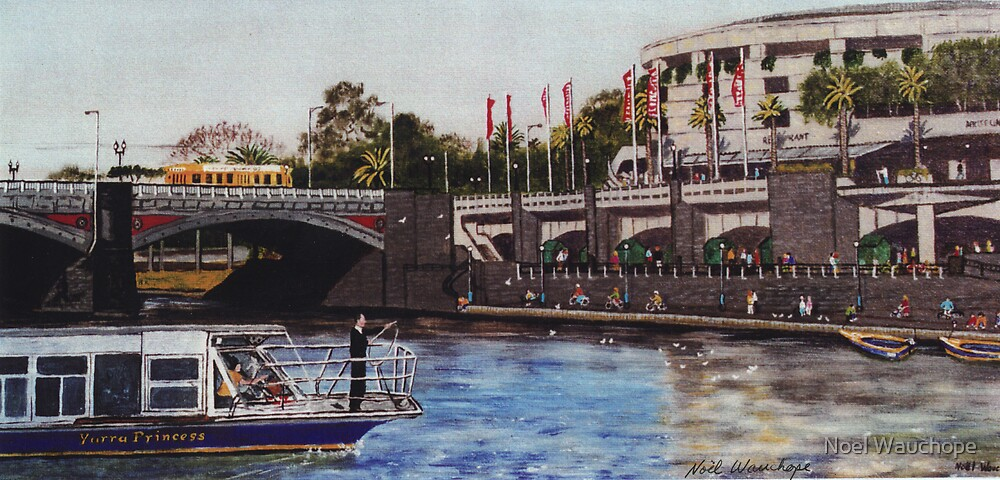 Southbank, Melbourne by Noel Wauchope