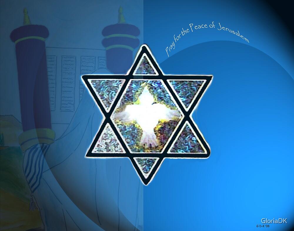 Shalom by GloriaDK