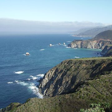 California Coastline by lucidgraphix