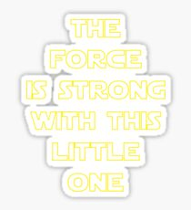 The Force Sticker