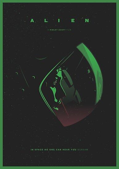 Alien 1979 by menosketiago