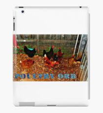 POULTRY ORB iPad Case/Skin