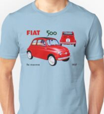 FIAT Nuova 500 vintage Unisex T-Shirt