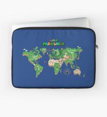 SMW Super Mario World Map Laptop Sleeve