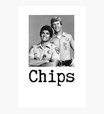 Chips.  Photographic Print