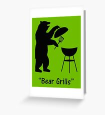 Bear Grills Greeting Card