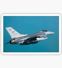 An F-16 Fighting Falcon in flight. Sticker