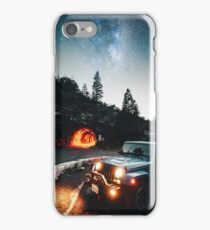driving in the yosemite national park iPhone Case/Skin