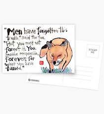 Wise Fox Postcards