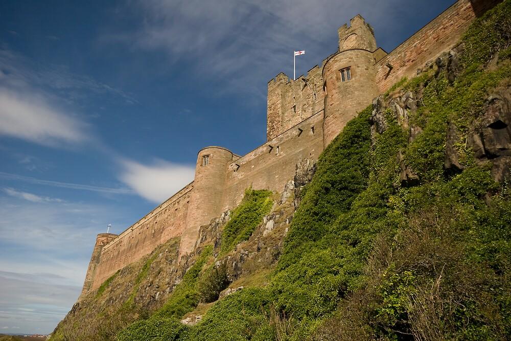 Bamburgh Castle by NalaRewop