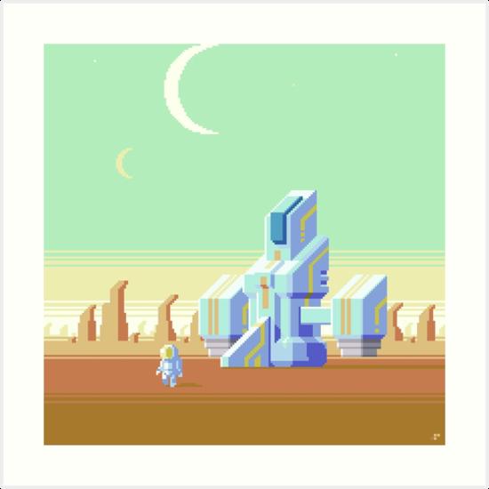 Space Explorer by Slynyrd