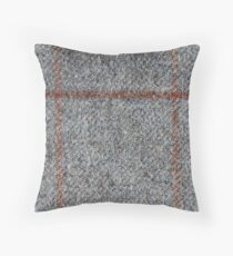 Tweed Check Throw Pillow