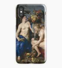 Ceres with two Nymphs 1624 Peter Paul Rubens Frans Snyders iPhone Case/Skin