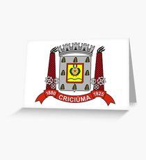 Criciúma, Brazil Greeting Card