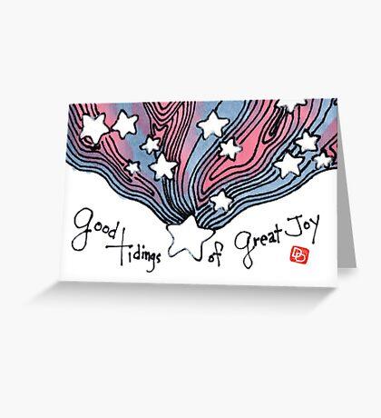 Luke 2:10 Greeting Card