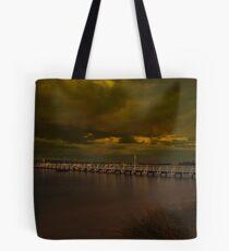 Camerons Bight Storm Tote Bag