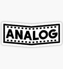 ANALOG Sticker