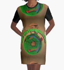 Earth´s Tongue  Graphic T-Shirt Dress