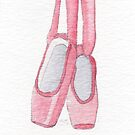 Pointe Shoes by swelldame