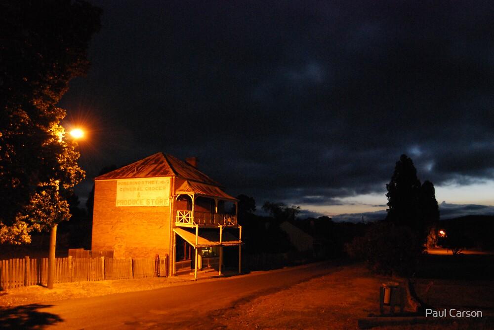 Ghost Merchants by Paul Carson