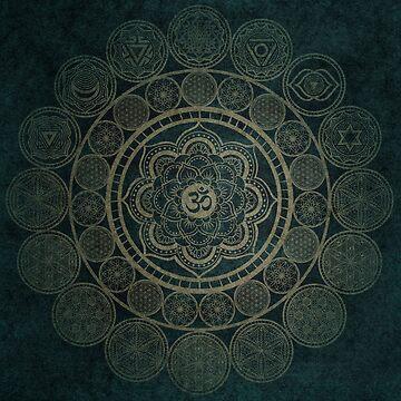 Sacred Geometry - Circular Connections by RAFAROMAN
