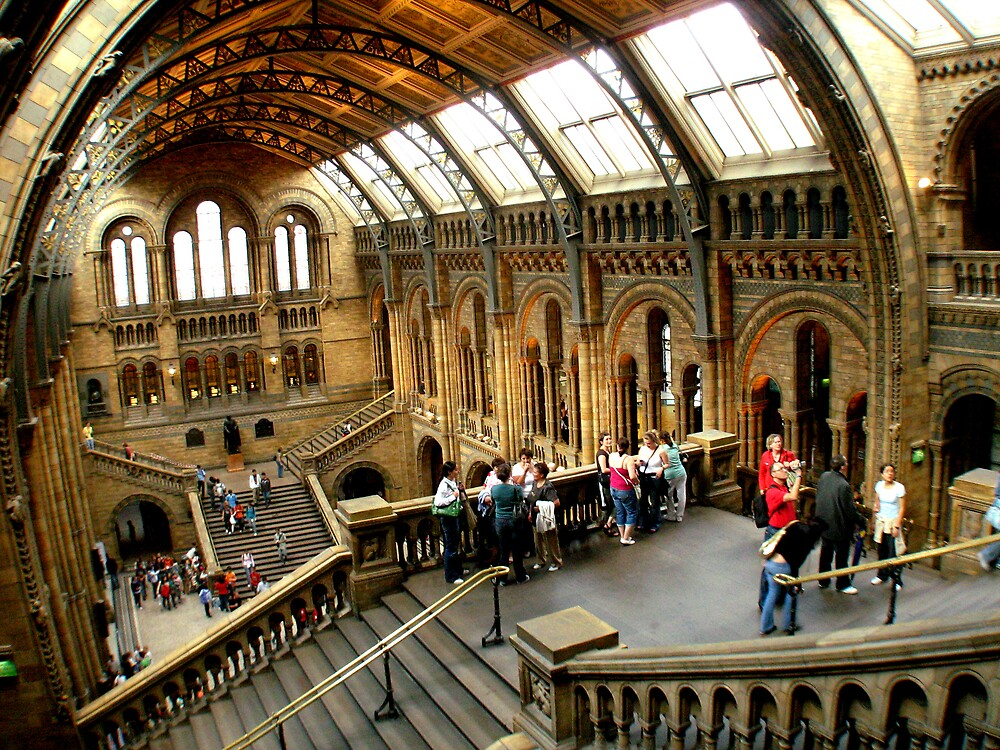 National History Museum, London by BenGartrell
