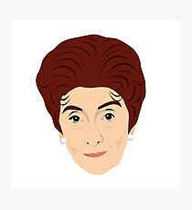 Eastenders - Dot Cotton / Branning - June Brown Photographic Print
