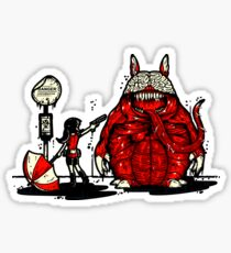 Totoro Was Infected Sticker