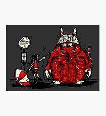Totoro Was Infected Photographic Print